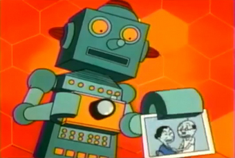カメラマンロボット「太郎」?…1